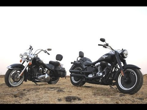Harley-Davidson Fat Boy Special & Heritage Softail Classic | Comprehensive Review | Autocar India