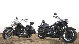10. Harley-Davidson Fat Boy Special & Heritage Softail Classic | Comprehensive Review | Autocar India
