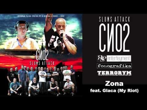 Tekst piosenki Slums Attack - ZONA   feat. Glaca (My Riot) po polsku