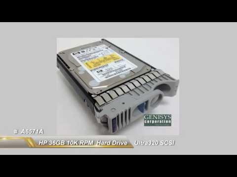 A6571A HP 36GB 10K RPM Ultra320 SCSI Hard Drive at Genisys