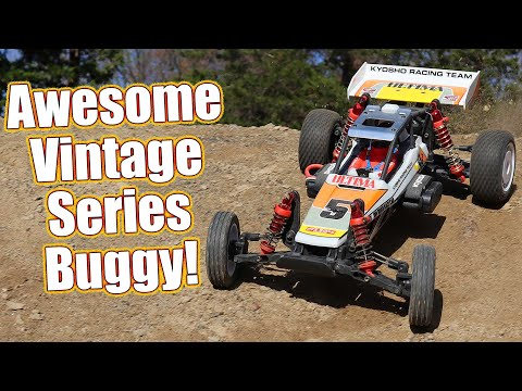 Turn Back The Clock! Kyosho Ultima Vintage Series EP 2WD Racing Buggy Review | RC Driver