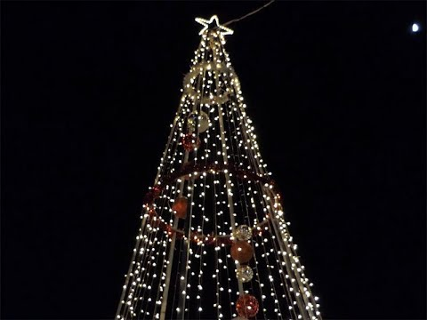 Encendido Árbol de Navidad Barriada San Francisco de Isla Cristina