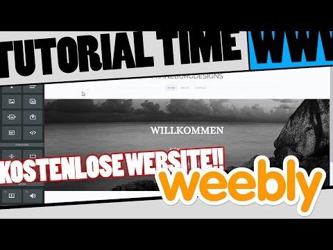 Kostenlose Website erstellen mit Weebly – EINFACH!! Tutorial – TutorialTime #001 [HD+GERMAN]