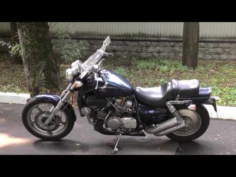 Honda Magna рассказ (видео)