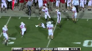 Kirk Cousins vs Wisconsin (2011)