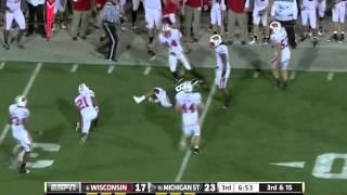 Kirk Cousins vs Wisconsin  (2011)