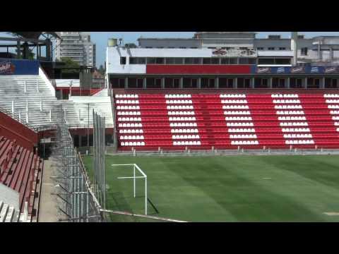 Nuevas butacas en el Estadio 15 de Abril