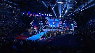 Эпизоды церемонии открытия III зимних Всемирных военных игр
