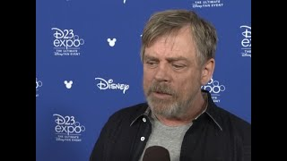 "Mark Hamill and his ""Star Wars: The Last Jedi"" co-stars remember Carrie Fisher at Disney's D23 expo in Anaheim. (July 17)Subscribe for more Breaking News: http://smarturl.it/AssociatedPress