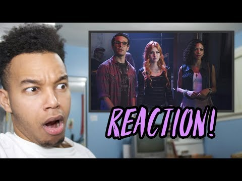 "Shadowhunters Season 1 Episode 1 ""The Mortal Cup"" REACTION!"