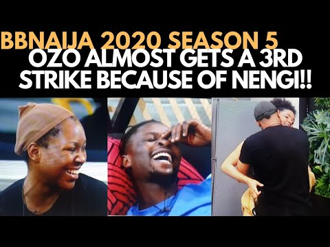 BBNAIJA 2020: OZO RISKS A STRIKE FOR NENGI | VEE & LAYCON'S LATE NIGHT CONVERSATION  ERICA, KIDDWAYA