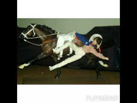 Breyer trick riding tricks