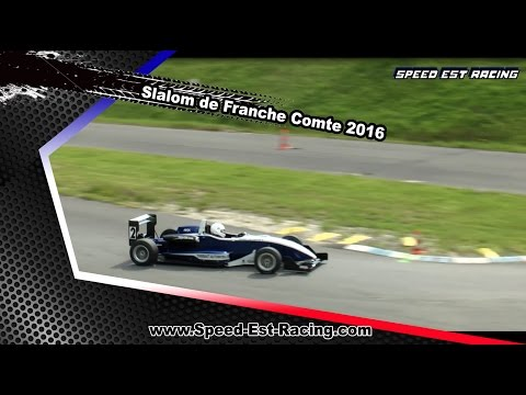 Slalom Franche comte 2016 [HD] by speed est racing