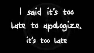Apologize OneRepublic