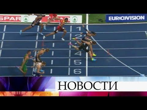 Российские спортивные гимнасты и легкоатлеты в разных дисциплинах взяли золото серебро и бронзу.