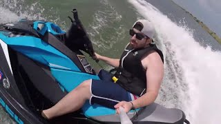 10. riding my supercharged Sea Doo gtr 230