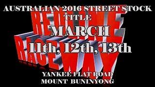 Buninyong Australia  City new picture : 2016 Australian Street Stock Title REDLINE RACEWAY Yannkee Flat Road Mount Buninyong