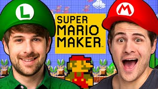 WE'RE IN SUPER MARIO MAKER!