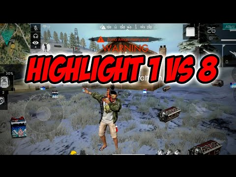 HIGHLIGHT FRONTAL GAMING 1 VS 8 MASIH BISA RATA!!!