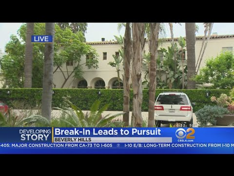 Beverly Hills Burglary Turns Into Car Chase