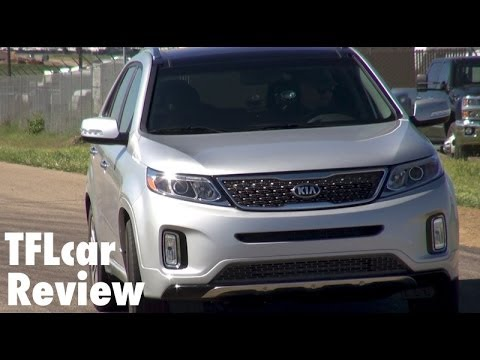 2015 KIA Sorento 0-60 MPH Test & Track Review