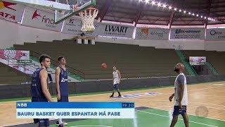 Bauru Basket tem treino fechado a sete chaves antes de encarar o Corinthians pelo NBB
