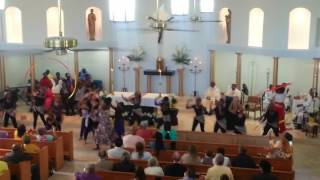 Video Easter dance in church 2017 MP3, 3GP, MP4, WEBM, AVI, FLV Juli 2018