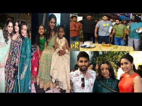 Mahesh Babu and Namrata Shirodkar Latest Pics With Their Family and Shriya Bhupal Wedding Photos