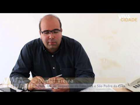 Dia com Daniel Vieira. Reportagem Vivacidade