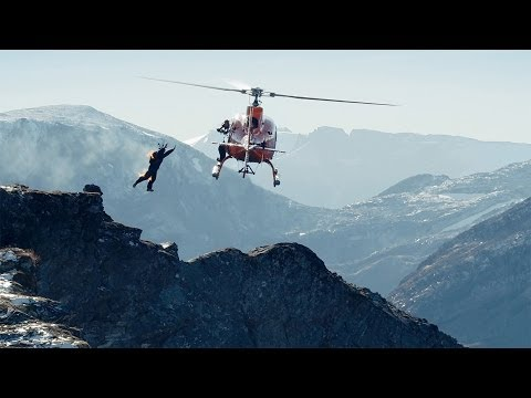Protection - Watch as stuntman and base jumper Tom Erik Heimen completes the fire protection challenge by #DevoldProtection at 1200 meters height. Learn more about Devold...
