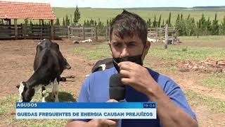 Agudos: quedas de energia causam prejuízos a produtores de assentamento