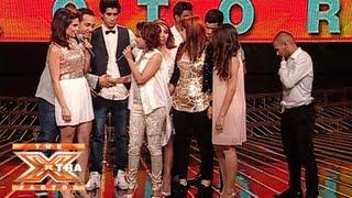 وداع المتسابقين لمروى أحمد وكلمات الحكام لها- الحلقة الخامسة - The XTRA Factor 2013