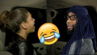Starrkeisha & Beyoncé Rehearse in the Car! 😂 #Beyhive | Random Structure TV