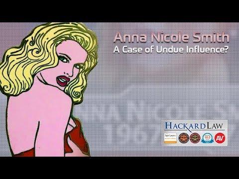 Anna Nicole Smith & J. Howard Marshall | Undue Influence?