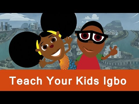 Help Your Children To Speak Igbo With Our Cartoon