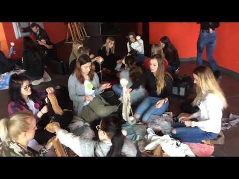 Wideo1: Teatralna lalka - warsztaty w PWSZ