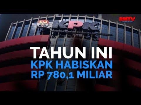 Tahun Ini, KPK Habiskan Rp 780,1 Miliar