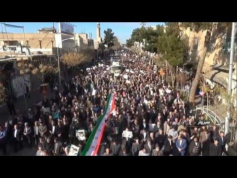 Neue Proteste in iranischen Städten - Armeechef dro ...