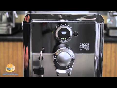 How To Fine Tune the Gaggia Platinum Vogue Espresso Machine