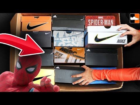 What's In The Box?! CRAZY BIG Nike New Releases Edition! + Spiderman!