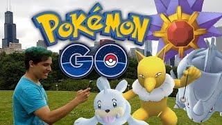 Pokémon GO in Chicago | Rare Pokémon and Epic Battles! by Munching Orange
