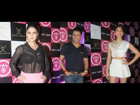 Jacqueline, Harman And & Celebs At The Launch Of Microspa