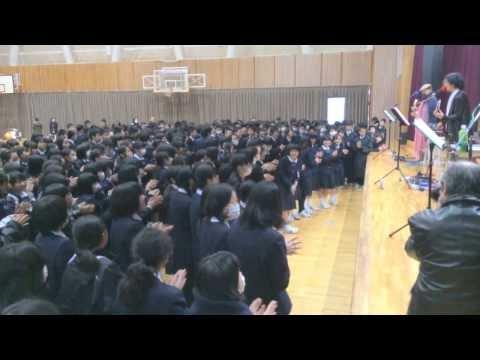 Fly High!〜丸岡南中学校応援歌〜@丸岡南中学校