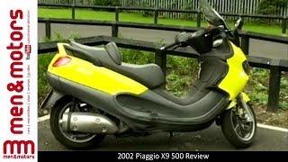 4. 2002 Piaggio X9 500 Review
