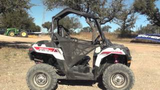 1. 2014 Polaris Sportsman Ace First Test