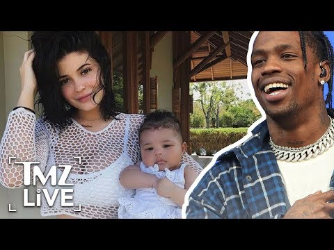 Travis Scott Bonds with Kylie & Stormi in Hawaii | TMZ Live