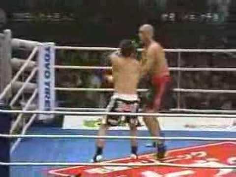 musashi - Kickboxing bout with an insane ending.