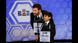 Video Jimmy Kimmel Live | Jimmy and Akash team up against Scripps National Spelling Bee Champions MP3, 3GP, MP4, WEBM, AVI, FLV Januari 2019