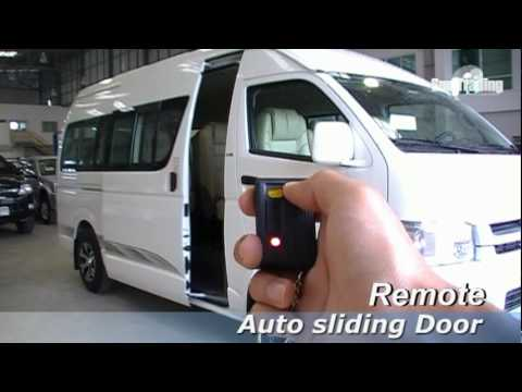 Toyota commuter auto slide door 2 EP.5