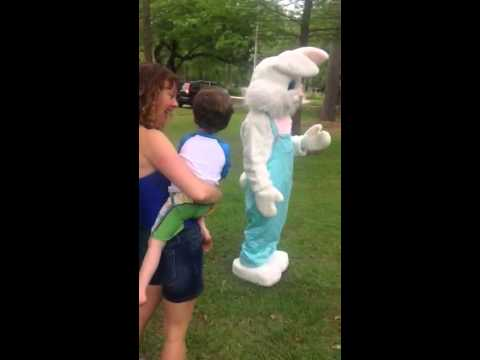 Easter Bunny April 2015